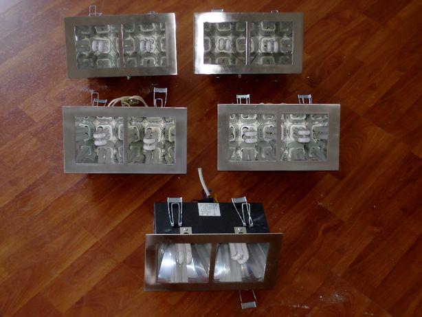 5 Projectores de embutir