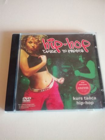 Hip hop tańcz to proste kurs na płycie CD
