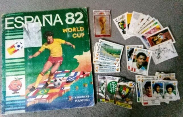 Cromos Mundial Futebol Espanha 82 Panini