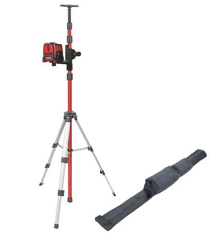 Laser krzyżowy + statyw + tyczka KAPRO KA873S niwelator 3 linie