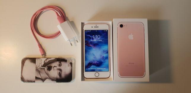 Iphone 7 rose gold telefon +etui gratis (mozliwa zamiana)