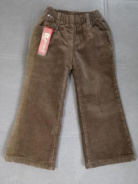 Ocieplane spodnie dziewczęce 4 lata 104 110