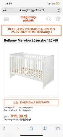 Łóżeczko Bellamy Marylou 120 x 60
