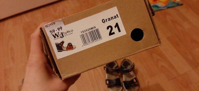 Sandałki chlopiece
