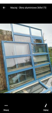 Okno  aluminiowe 250x174