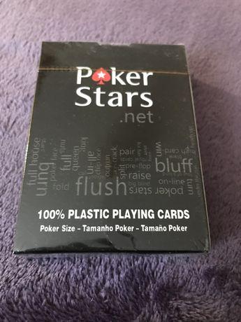 Poker Stars карты игральные покер пластиковые игральные
