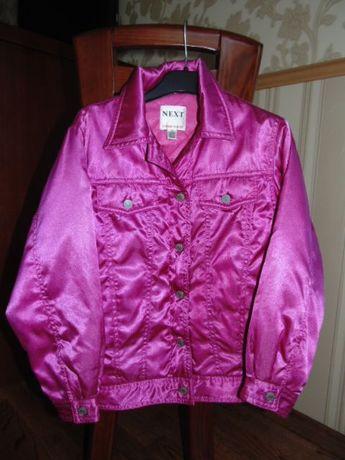 Легкая осенняя куртка NEXT 7-8 лет