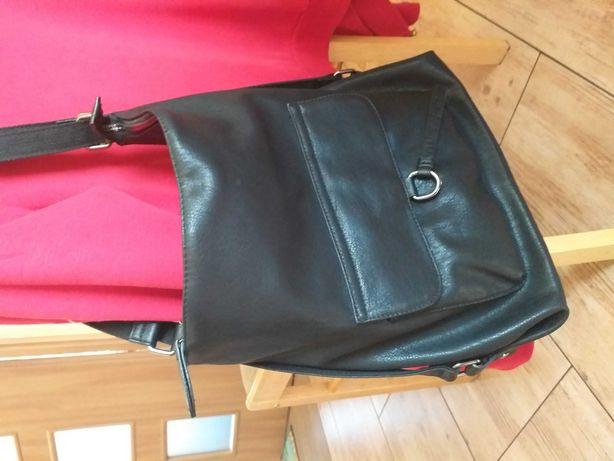 Torba na ramię z funkcją plecaka