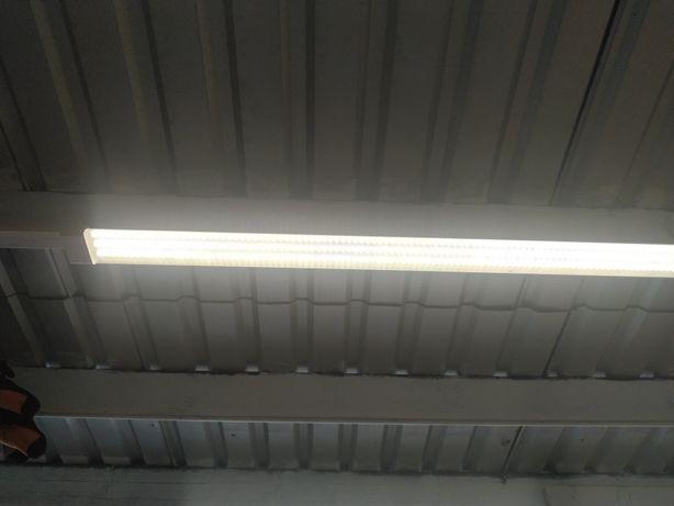 LAMPA LED PROMOCJA 10 zł BRUTTO 120 cn do garażu, warsztatu świetlówka
