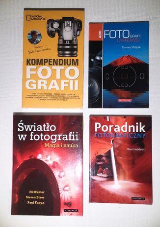 Zestaw książek o fotografii