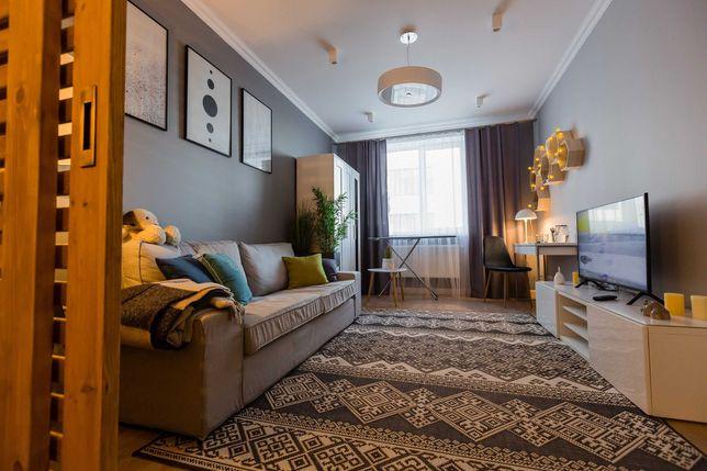 Однокімнатна квартира з дизайнерським ремонтом