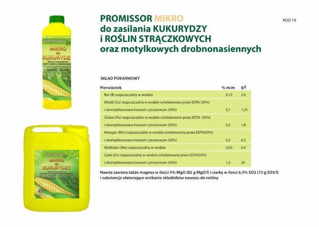 Nawóz Dolistny KUKURYDZA MIKRO Chelatowy 20 L - Paleta 24 szt