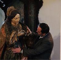 Santa Verónica  Extraordinária  escultura em madeira séc.XVIII