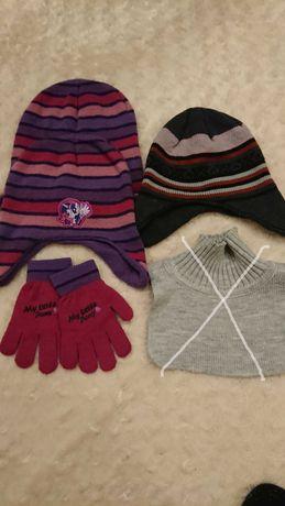 Zestaw czapki + rękawiczki