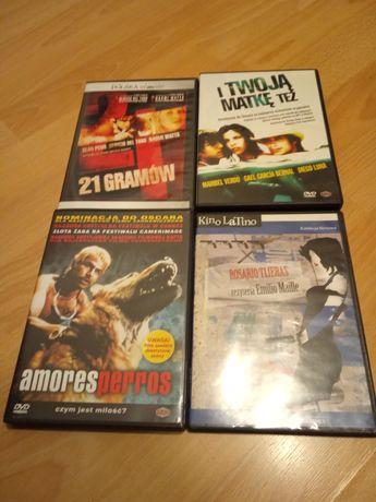 Filmy DVD kino latynoskie, zestaw, Amores Perros, I twoją matkę też