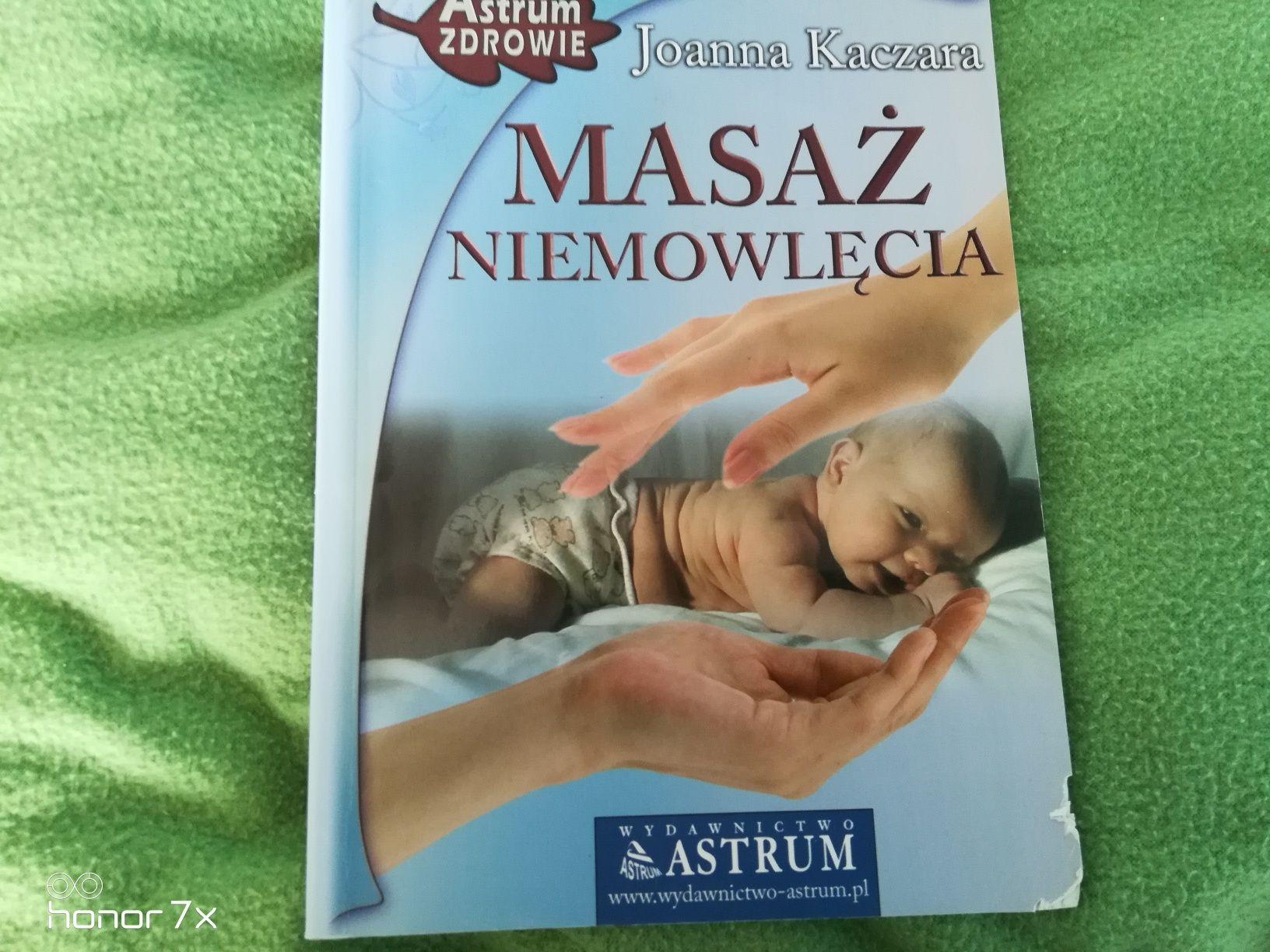 Książka Masaż Niemowlęcy