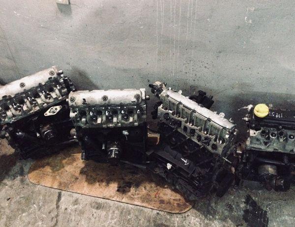 Мотор Двигун ГУР Megane Volvo Kangoo Scenic Laguna Турбина КПП ШРОТ
