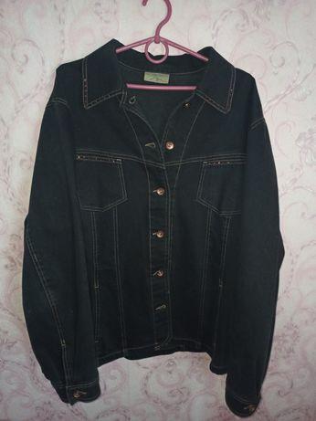 Джинсовка джинсовый пиджак жакет  черная джинсовка куртка
