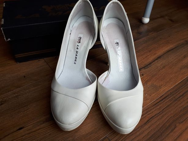 Buty ślubne La Marka r.38