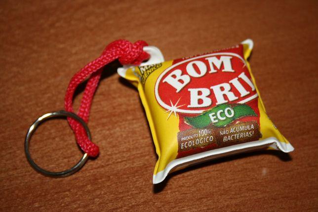 Porta chaves Bom Bril - Raro - porta-chaves brasileiro