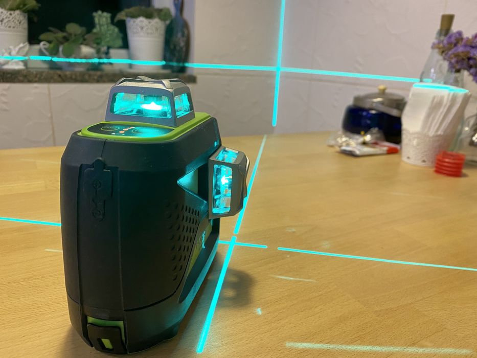 Продам 3D лазерный уровень нивелир Huepar HP-603CG Киев - изображение 1