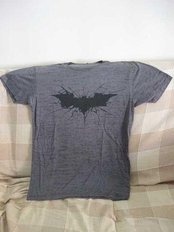 T-shirt Cinzenta/ Preta Batman - DC Comics
