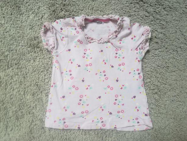 1 zł wysyłka, bluzeczka bluzka dla dziewczynki rozmiar 86