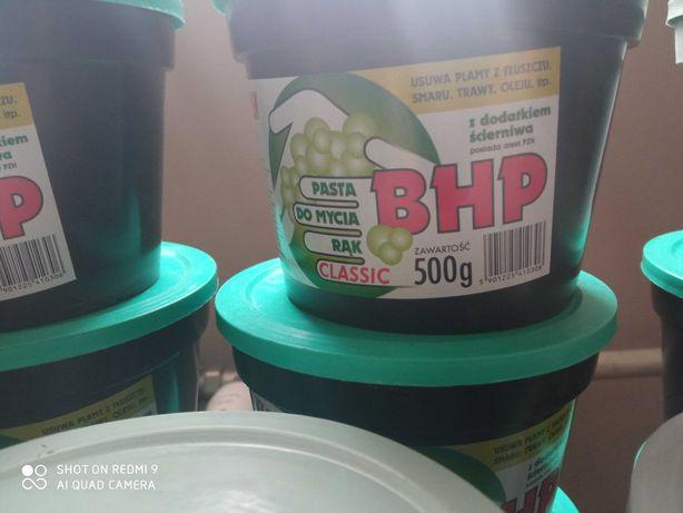 pasta BHP do mycia rąk z dodatkiem ścierniwa 500g