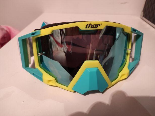 Nowe gogle Thor enduro ATV