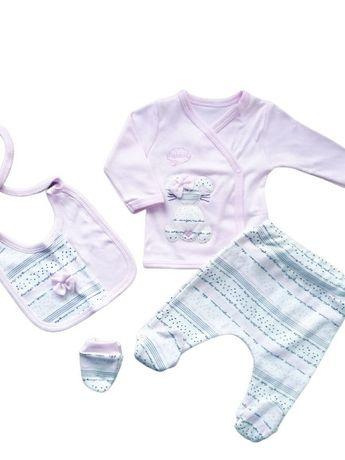 Wyprawka niemowlęca aż 5 części rozmiar 56