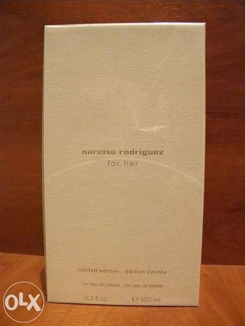 Narciso Rodriguez limited edition For Her ЕДТ. 100 мл. обмен