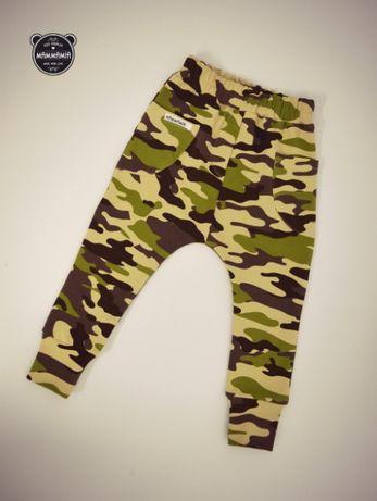 Spodnie moro handmade