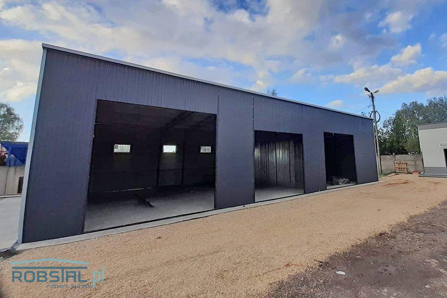Hale stalowe, wiaty blaszane, magazyny, garaże na maszyny rolnicze Ostrołęka - image 1