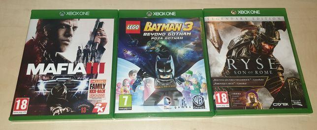 Gry Xbox One Batman 3, Mafia 3, RYSE Son of Rome