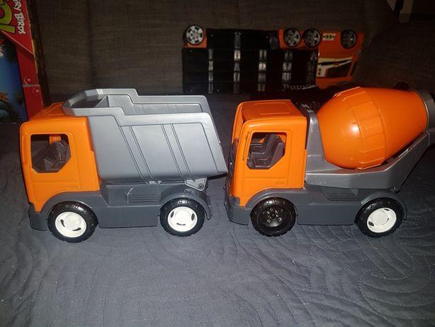 Samochody Wader. Ciężarówka i betoniarka. Zabawki