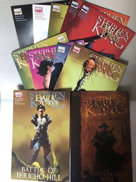 "Stephen king ""the Dark Tower"" comics"