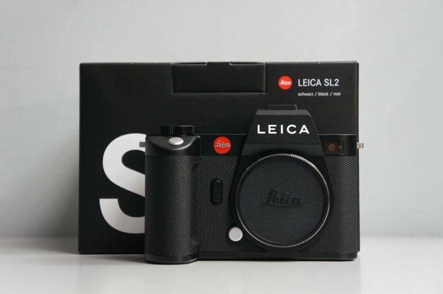 Leica SL2 corpo. Praticamente nova e com garantia .