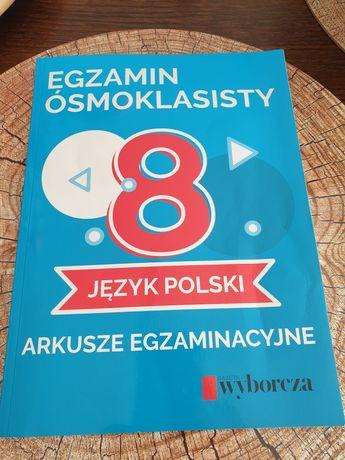 Testy z matematyki i polskiego 2019 dla ósmoklasisty nie wypełniane +