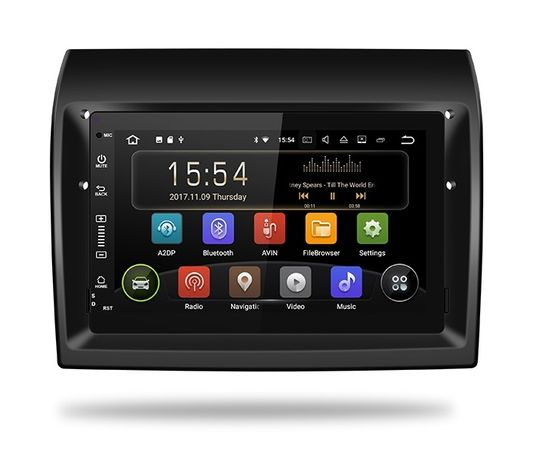 RADIO FIAT ANDROID 9.0 2GB Ducato Jumper Boxer DVD GPS Nawigacja 24h