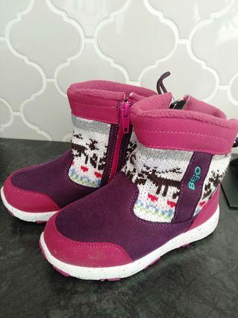 Buty zimowe śniegowce rozmiar 28