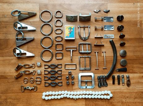 Бижутерия украшения кольца зажимы для сумок, поясов