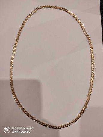 Łańcuszek złoty p.585 19,5g pancerka 60cm