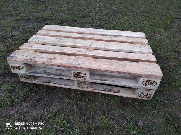 Sprzedam drewniane europalety 80x120 podstawa pod mauzer pojemnik 1000
