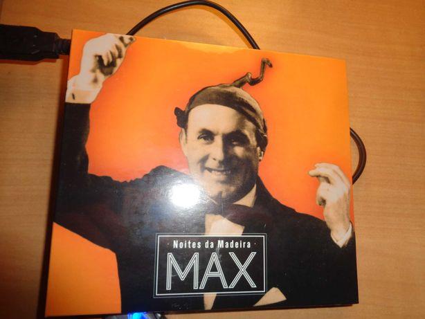 CD Musica do Max Noites da Madeira nôvo duplo lacrado.