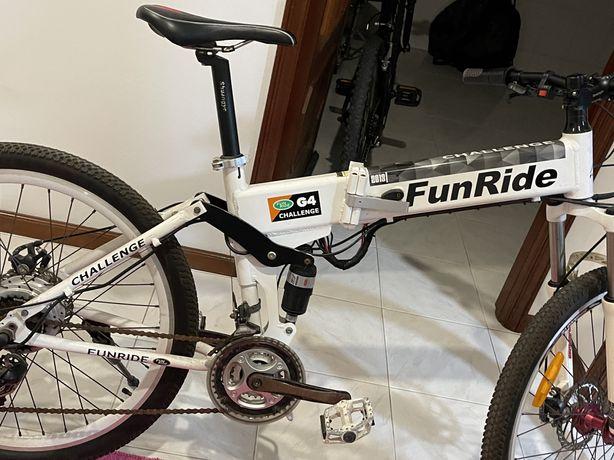 Bicicleta dobravel electrica