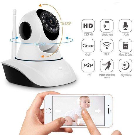 Bezprzewodowa kamera monitoringu 360 ,Night Vision