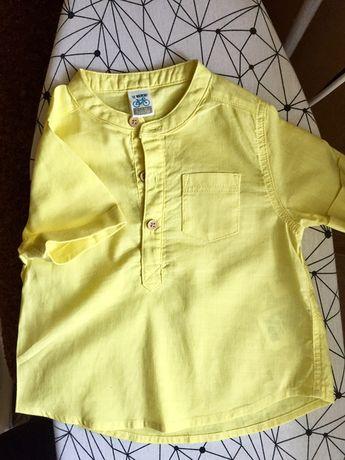 Фктболка-рубашка на хлопчика LC Waikiki, 74/80, 9-12 місяців