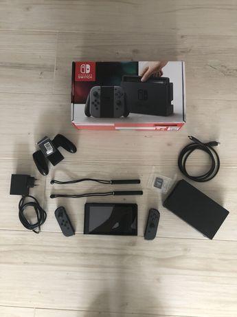 Nintendo Switch CFW karta 128 gb +32gb Atmosphere szara