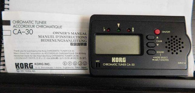 KORG Chromatic Tuner CA-30