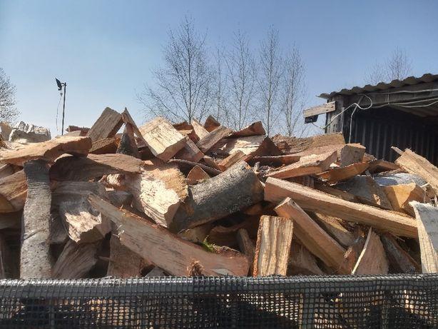 Drzewo drewno workowane opałowe bukowe